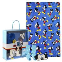 SET CADEAU PLAID MICKEY