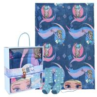 SET CADEAU PLAID FROZEN ELSA