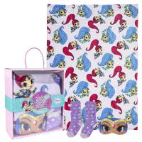 SET CADEAU PLAID SHIMMER AND SHINE