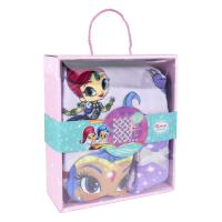 SET CADEAU PLAID SHIMMER AND SHINE 1