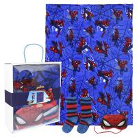 BLANKET GIFT SET SPIDERMAN