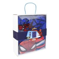 SET REGALO MANTA SPIDERMAN 1