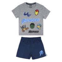 PYJAMAS COURTS EN COTON SINGLE JERSEY AVENGERS