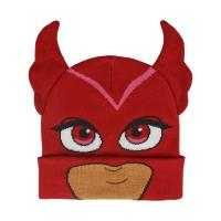 BONNET AVEC DES APPLICATIONS PJ MASKS BUHITA