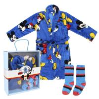 SET REGALO HOGAR FLANNEL FLEECE MICKEY
