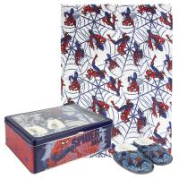 SET CAJA METÁLICA SPIDERMAN