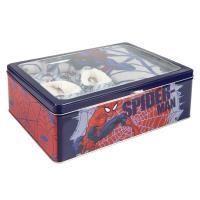 SET CAJA METÁLICA SPIDERMAN 1