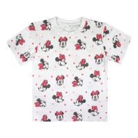T-SHIRT MANGA CURTA PREMIUM SINGLE JERSEY MINNIE