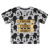 T-SHIRT MANGA CURTA PREMIUM SINGLE JERSEY MICKEY