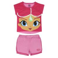 PIGIAMA CORTO COTONE SINGLE JERSEY SHIMMER AND SHINE