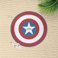 TOWEL ROUND AVENGERS CAPITAN AMERICA 1