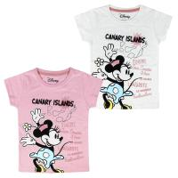 T-SHIRT MANGA CURTA MINNIE
