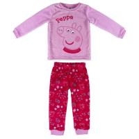 PYJAMA LONG CORAL FLEECE PEPPA PIG