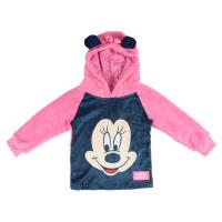 SWEAT SHIRT COM CAPUZ CORAL FLEECE MINNIE