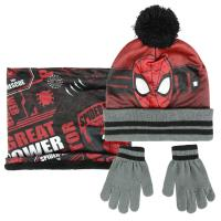 SET 3 PEZZI SPIDERMAN
