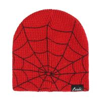 BONNET AVEC DES APPLICATIONS SPIDERMAN 1