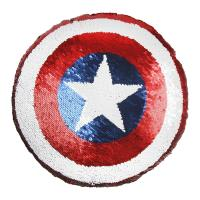 CUSHION SEQUINS AVENGERS CAPITAN AMERICA