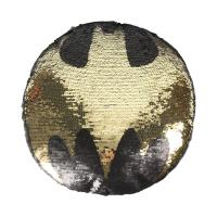 CUSCINO LUSTRINI/PAILLETTES BATMAN