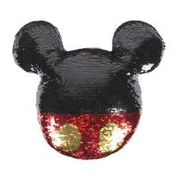 CUSHION SEQUINS MICKEY