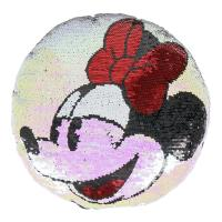 CUSCINO LUSTRINI/PAILLETTES MINNIE