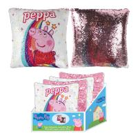 CUSHION SEQUINS PEPPA PIG