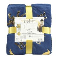 FLANNEL BLANKET HARRY POTTER HOGWARTS 1