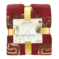 COUVERTURE DE FLANELLE HARRY POTTER GRYFFINDOR 1