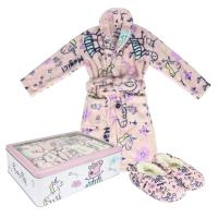 SET CADEAU MAISON FLANNEL FLEECE PEPPA PIG