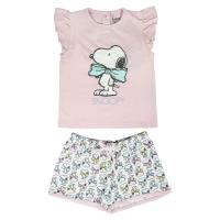 PIJAMA CURTO SINGLE JERSEY SNOOPY