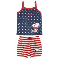PYJAMA COURT SINGLE JERSEY SNOOPY