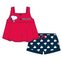 CONJUNTO 2 PIEZAS SINGLE JERSEY SNOOPY
