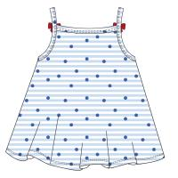 DRESS SINGLE JERSEY SNOOPY 1