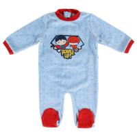 BABYGROW VELOUR JUSTICE LEAGUE