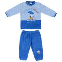 PIJAMA LONGO VELOUR COTTON DISNEY DONALD