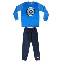 PYJAMA LONG VELOUR POLY AVENGERS