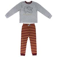 PIJAMA LONGO SINGLE JERSEY HARRY POTTER GRYFFINDOR