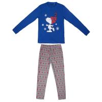 PIJAMA LARGO INTERLOCK SNOOPY