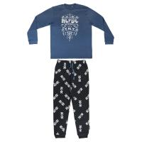 PIJAMA LONGO INTERLOCK MUSIC ACDC