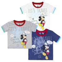 T-SHIRT MANCHES COURTES SINGLE JERSEY MICKEY