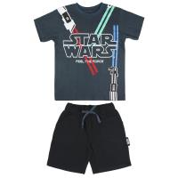SET 2 PEZZI SINGLE JERSEY STAR WARS