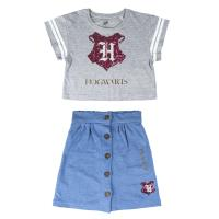 SET 2 PEZZI SINGLE JERSEY HARRY POTTER