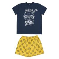PYJAMA COURT SINGLE JERSEY BOB ESPONJA