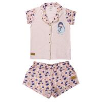 PIJAMA CURTO SINGLE JERSEY PRINCESS MULAN