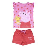 SHORT PAJAMAS SINGLE JERSEY PEPPA PIG
