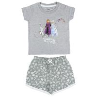 PIJAMA CURTO SINGLE JERSEY FROZEN 2