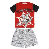 SHORT PAJAMAS SINGLE JERSEY SPIDERMAN