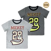 T-SHIRT PREMIUM MANCHES COURTES GLOW IN THE DARK SINGLE JERSEY MICKEY