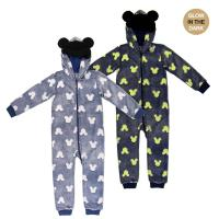 ONSIE GLOW IN THE DARK CORAL FLEECE MICKEY