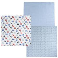 MUSLIN CLOTHS 3 PIECES MICKEY 1