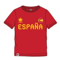 T-SHIRT MANGA CURTA SINGLE JERSEY EUROCUP ESPAÑA